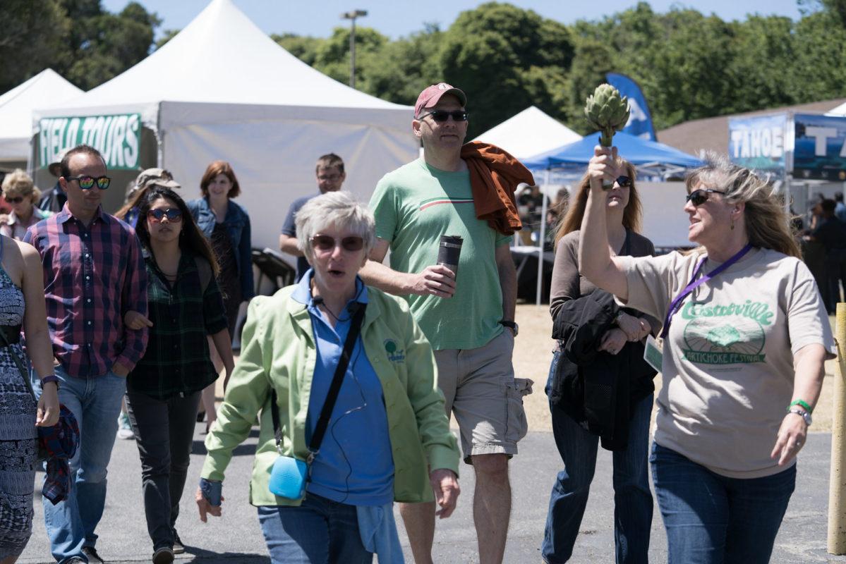 Artichoke festival Field Tours