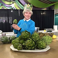 Pat Hopper, shares the ABC of the Artichoke