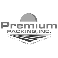 Premium packing logo