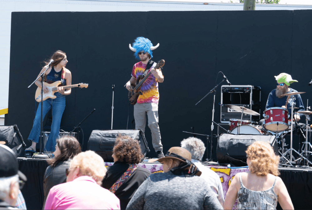 Purple Fox and the Heebie Jeebies at the Family Stage