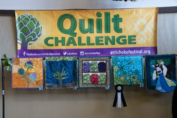 Artichoke Festival 2019 Image Gallery Quilt Challenge
