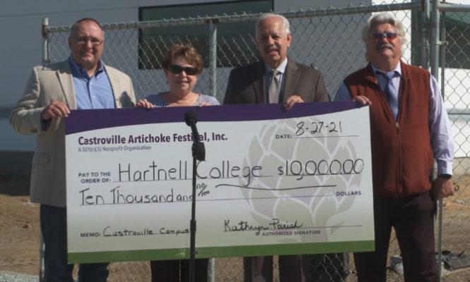 Hartnell $10,000 Award