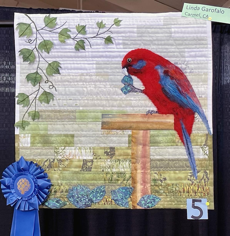 Linda Garofalo, Carmel, CA Quilt Challenge winner