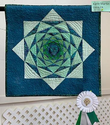 Karin Martin, Chico, CA Quilt Challenge winner