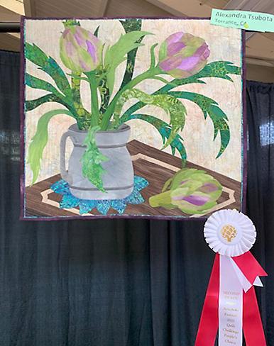 Alexandra Tsubota, Torrance, CA Quilt Challenge winner