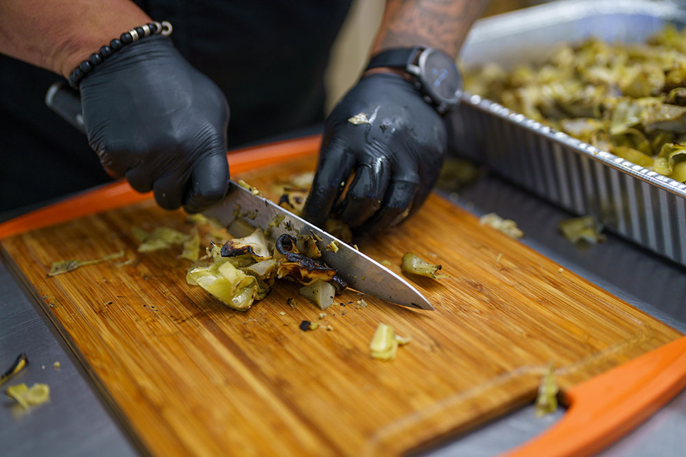 Cooking with artichoke hearts