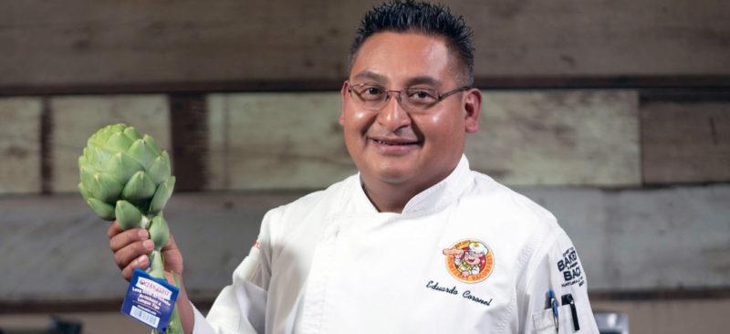 Artichoke Festival Chef Demos: E Coronel