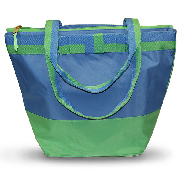 Blue/Green Deluxe Cooler Tote Bag - Accessories