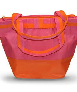 Pink/Orange Deluxe Cooler Tote Bag - Accessories