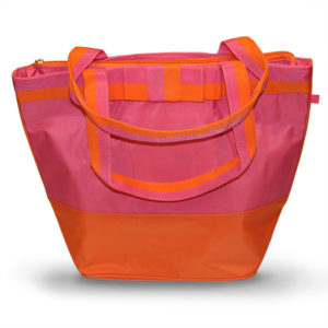 Pink/Orange Deluxe Cooler Tote Bag - Accessories