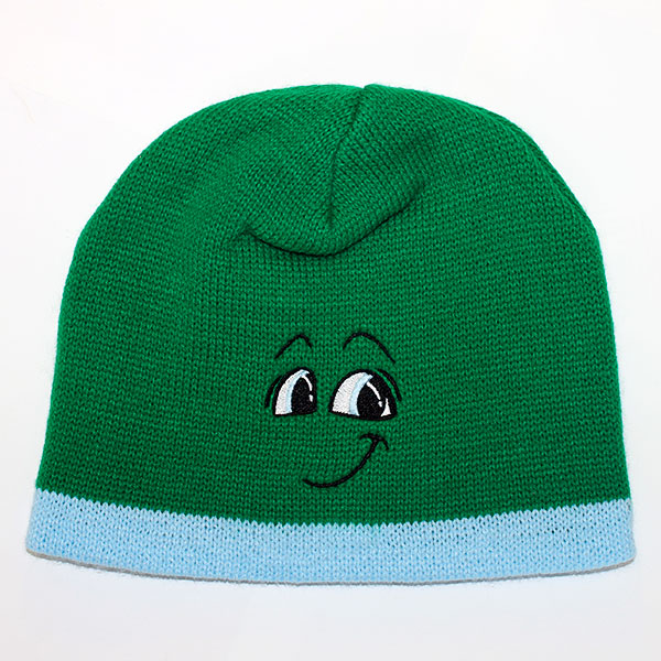 Arti Beanie with Light Blue Band - Accessories