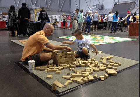 Kids Zone: Mindworks! Jenga