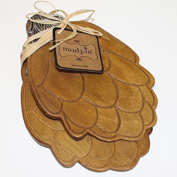 Wooden Artichoke Salad Hands - Miscellaneous