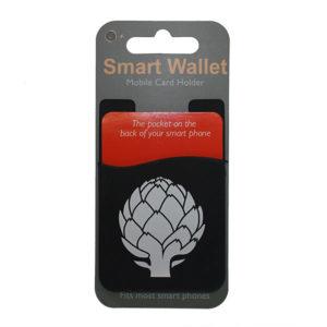 Black Smart Wallet Mobile Card Holder - Miscellaneous