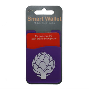 Purple Smart Wallet Mobile Card Holder - Miscellaneous