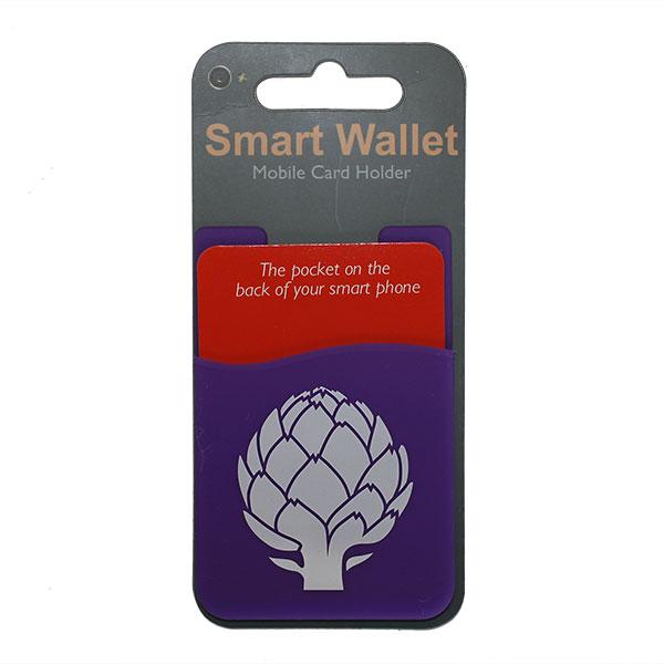 Purple Smart Wallet Mobile Card Holder - Miscellaneous