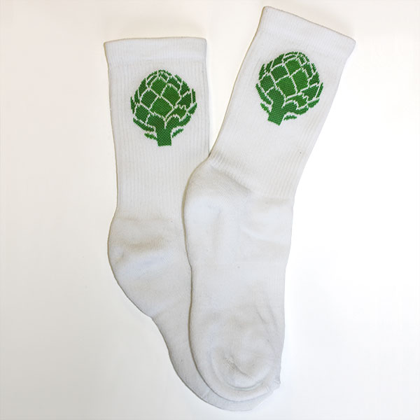 Artichoke Crew Socks - Accessories